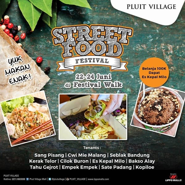 Pluit Village Street Food Festival