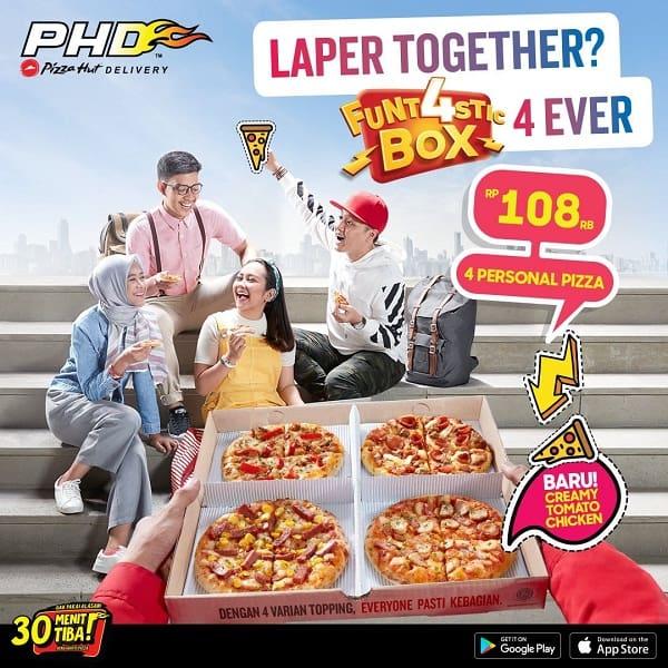 PHD Promo Funt4stic Box Hanya Rp. 108.000,-
