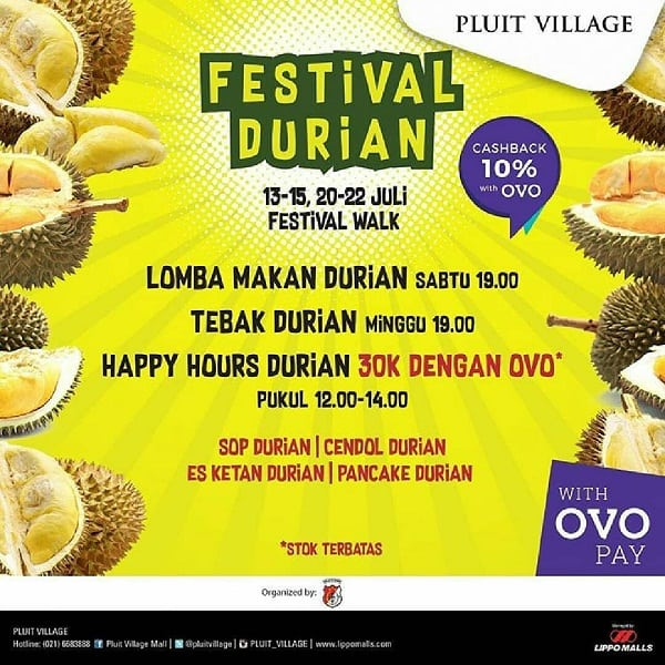 Festival Durian Pluit Village