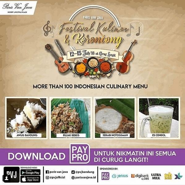 Festival Kuliner dan Keroncong