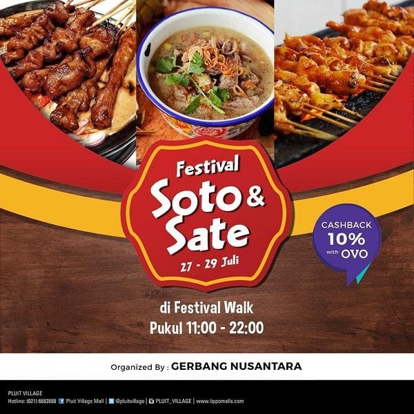 Festival Soto & Sate di Pluit Village