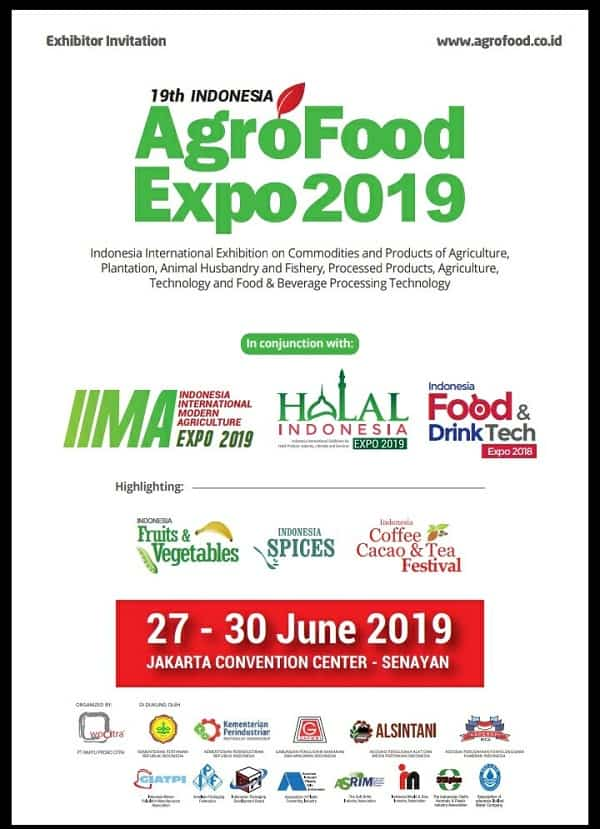 19th Indonesia AgroFood Expo 2019