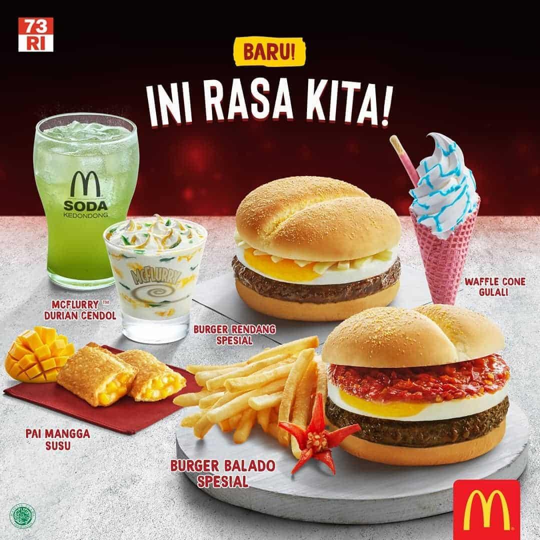 McDonald's Promo Menu Baru Ini Rasa Kita Harga Mulai Rp. 10.500,-