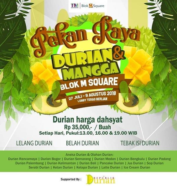 Pekan Raya Durian & Mangga