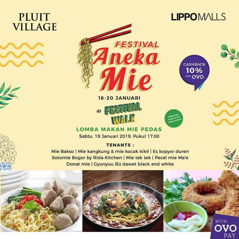 Festival Aneka Mie – Pluit Village