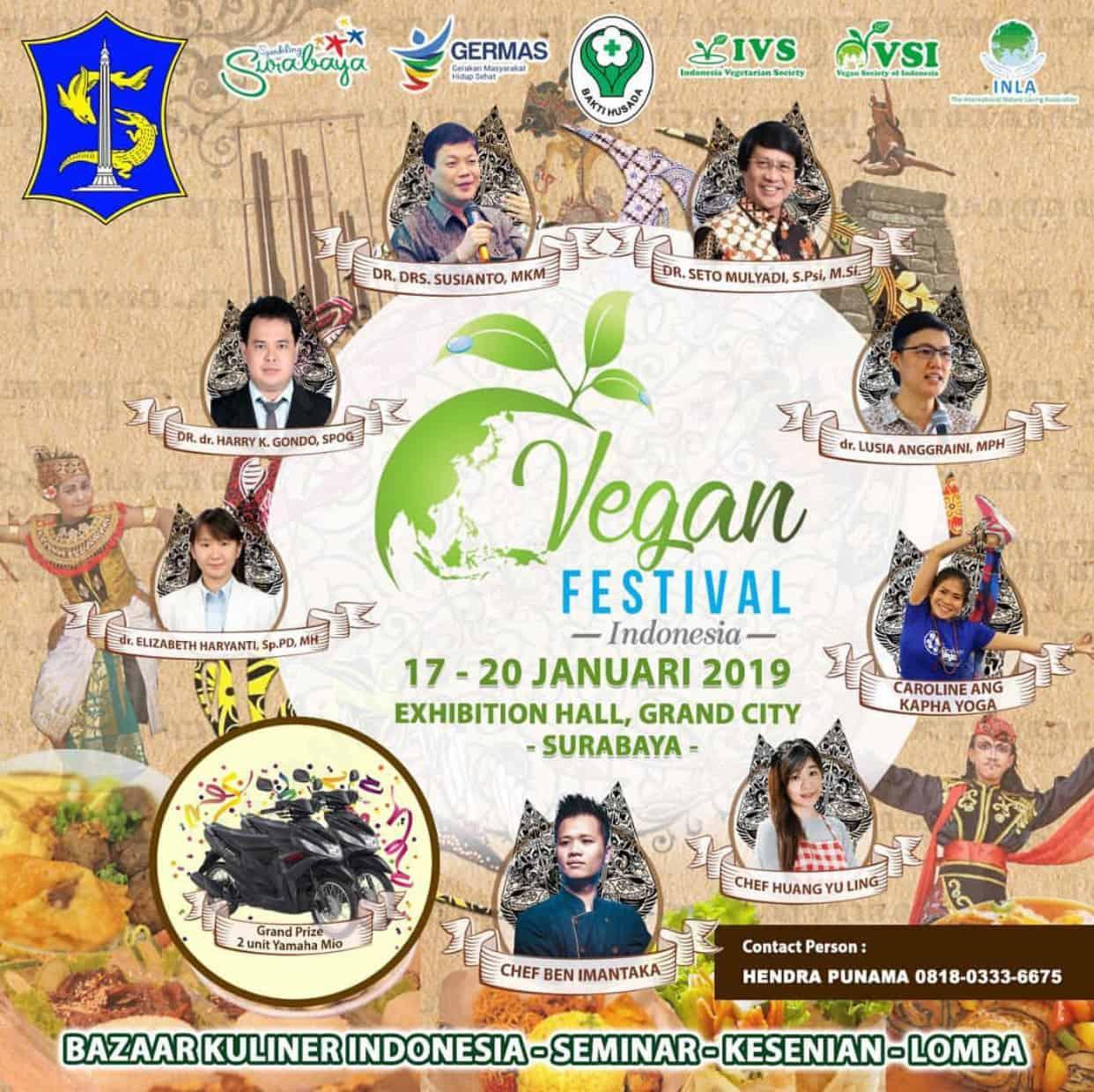 Vegan Festival Indonesia 2019