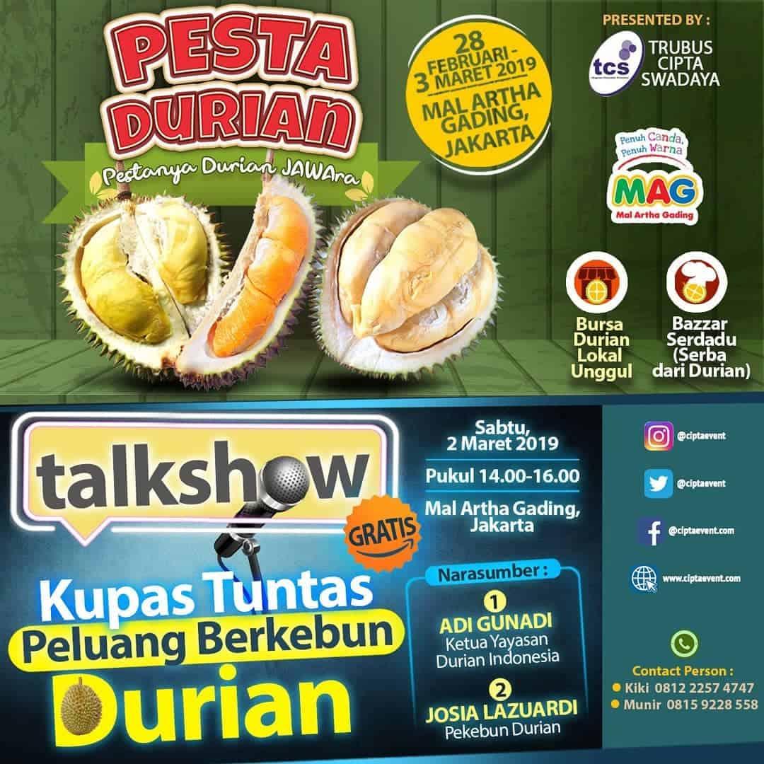 Pesta Durian 2019 – Mal Artha Gading
