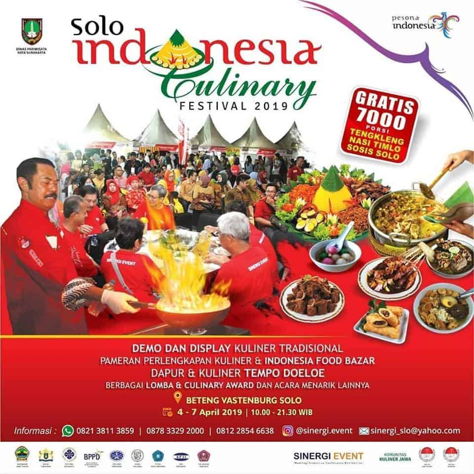 The 5th Solo Indonesia Culinary Festival 2019