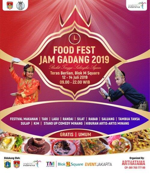 Food Festival Jam Gadang 2019