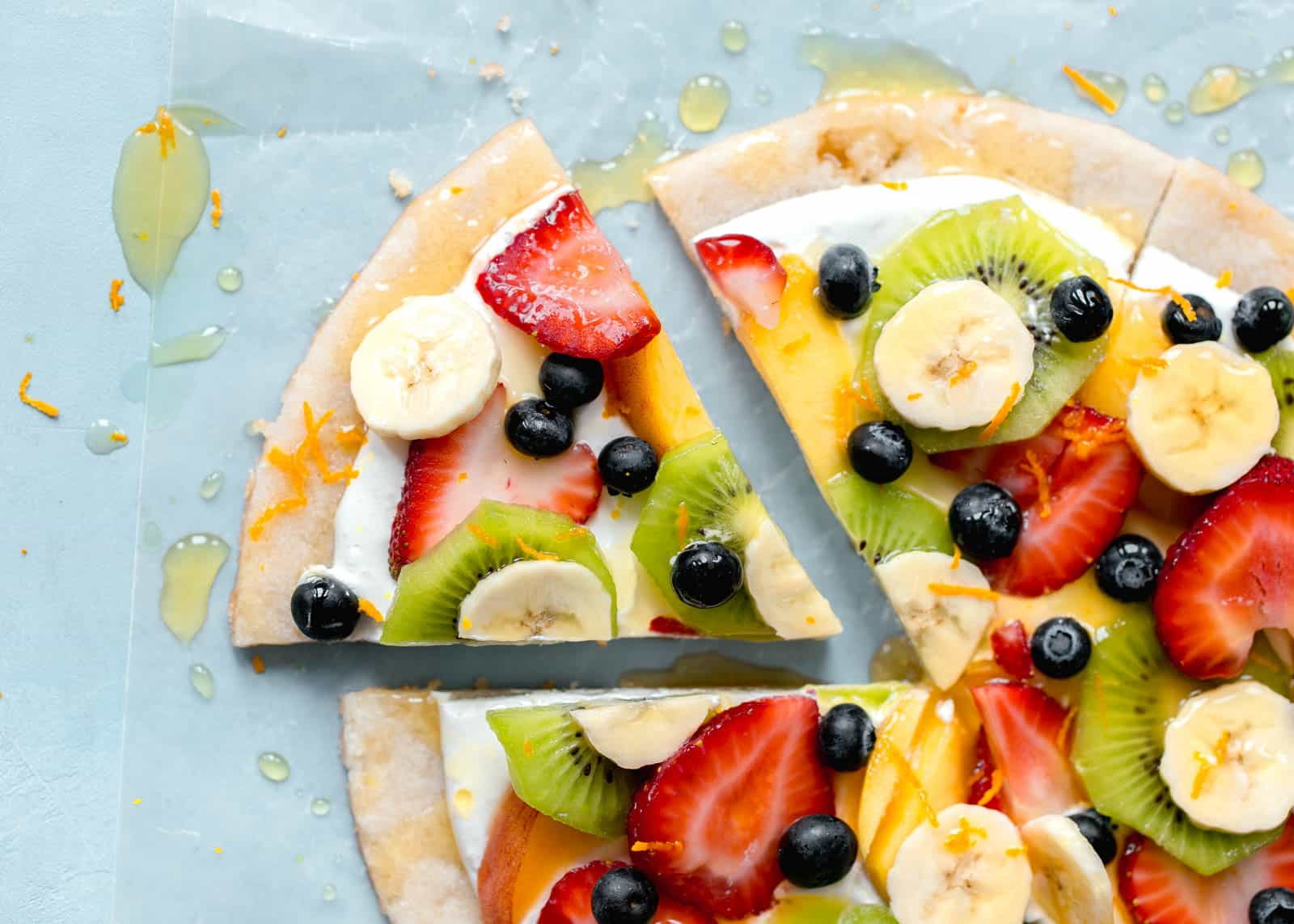 Resep Membuat Fruit Pizza