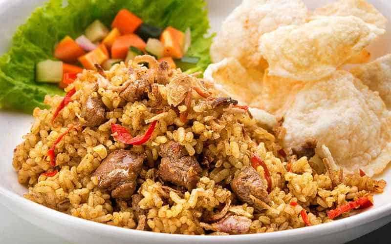 Resep Membuat Nasi Goreng Kari Ayam