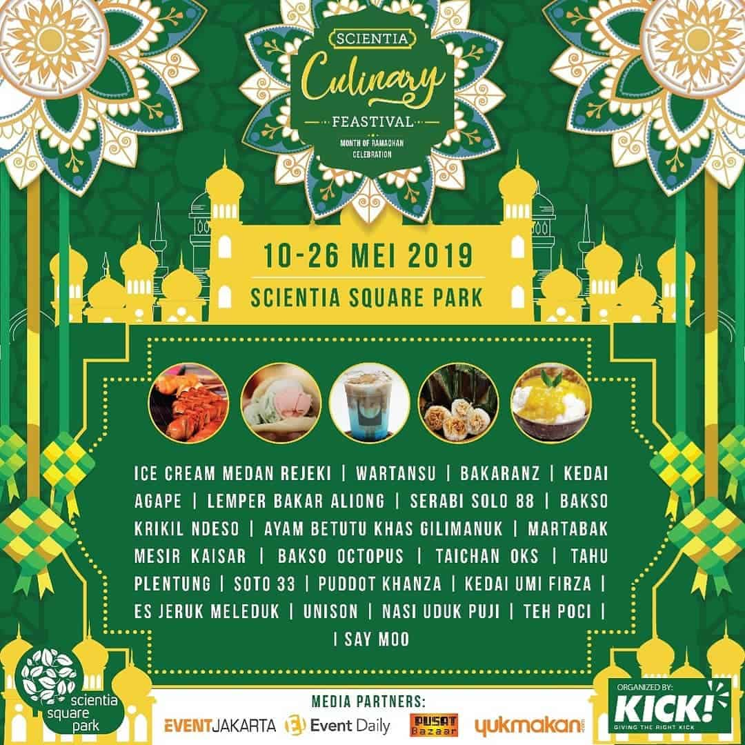 Scientia Culinary Feastival 2019