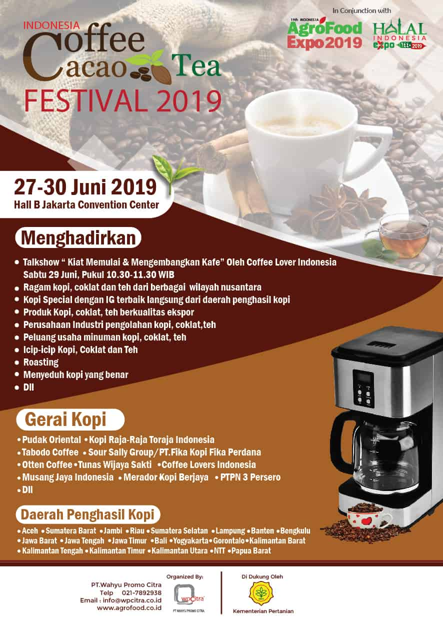 Indonesia Coffee Cacao Tea Festival 2019