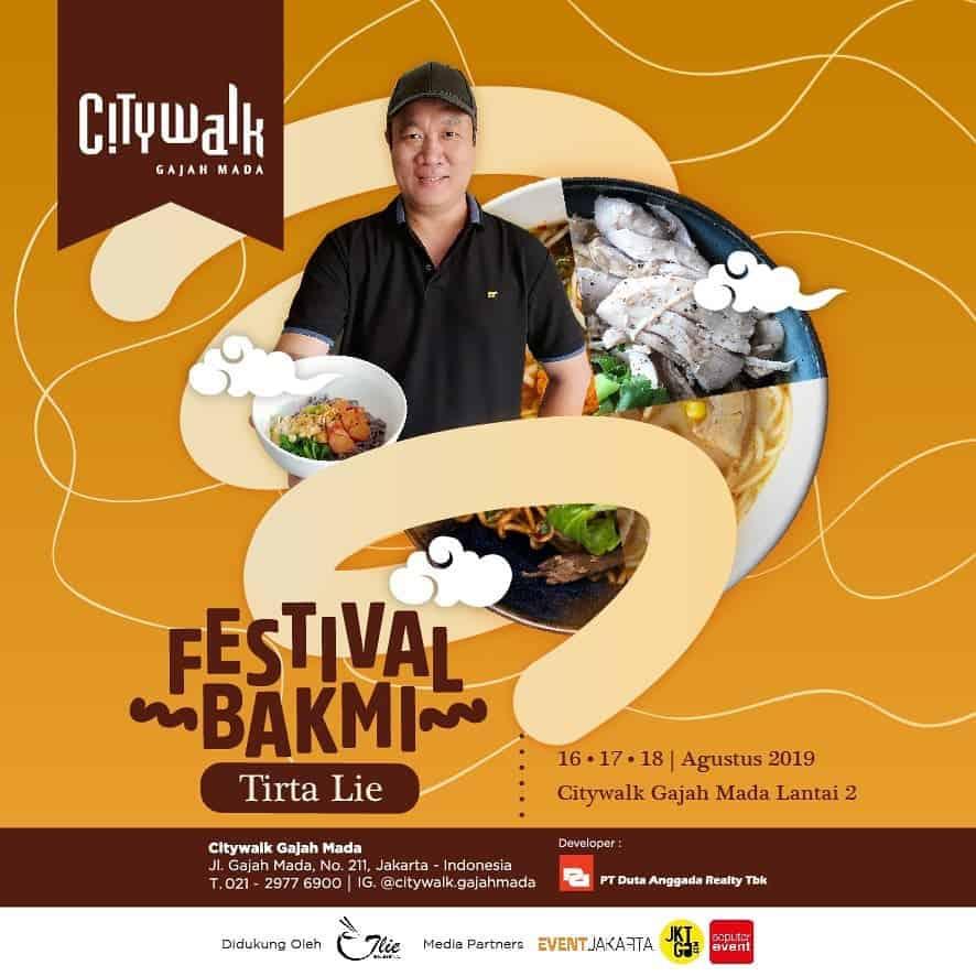 Festival Bakmi Tirta Lie 2019